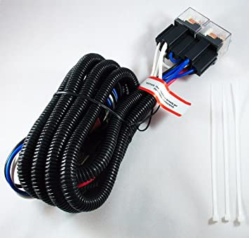 51DG06YfOiL._SX355_ amazon com octane lighting h4 100w ceramic fused pnp heavy duty headlight relay wiring harness at bayanpartner.co