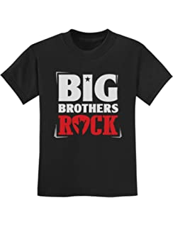 2b9e0dbe78d5 Amazon.com: Big Brothers Rock Shirt - Toddler & Adult Big Brother ...