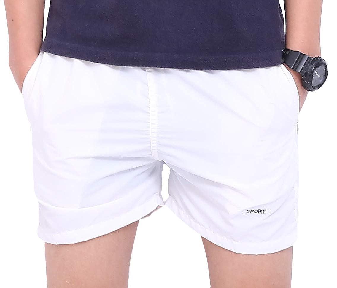 Vska Mens Jogger Casual Beach Shorts Athletic Summer Swimtrunks