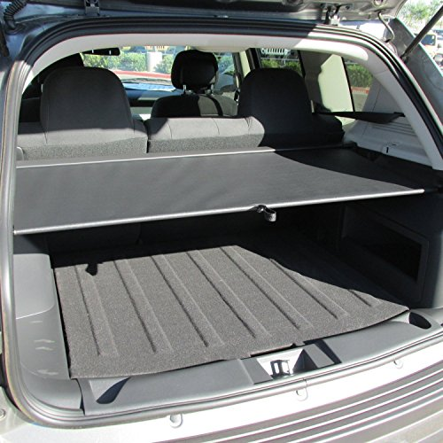 (2008-2016 Jeep Patriot/Compass Cargo Area Security Cover-Slate)