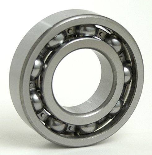 FAG 6308-C3 Deep Groove Ball Bearing, Single Row, Open, Steel Cage, C3 Clearance, Metric, 40mm ID, 90mm OD, 23mm Width, 18000 rpm Maximum Rotational Speed, 5600 lbf Static Load Capacity, 9650 lbf Dynamic Load Capacity