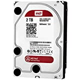 WD Red 2TB NAS Hard Drive - 5400 RPM Class, SATA 6 Gb/s, 64 MB Cache, 3.5' - WD20EFRX