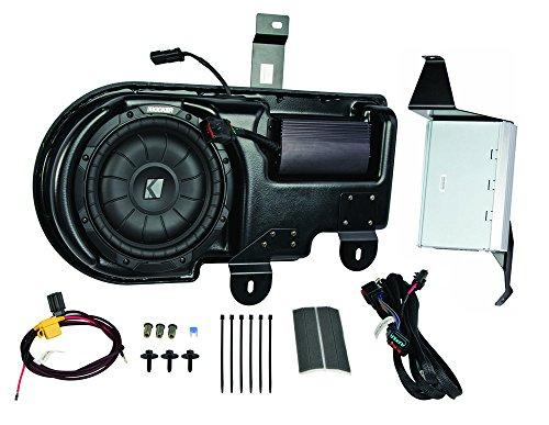 Kicker PF150C09 Ford F150 Super Cab 09-Up Factory Stereo Sub Box & 4Ch 200W - Watt 200 Amp Kicker