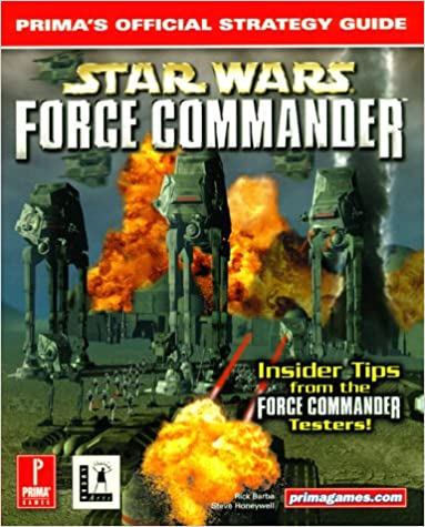 Book 'Star Wars': Force Commander - Official Strategy Guide
