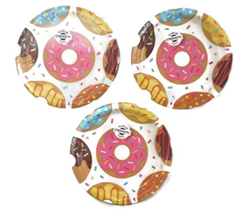 Donut Time Party Plates (24) Party Bundle ()