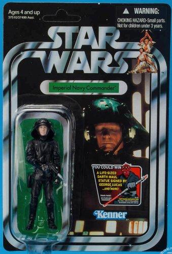 Imperial Commander - 2012 Star Wars Vintage Imperial Navy Commander Vc94 Unpunched - Hot!!! Hot!!!