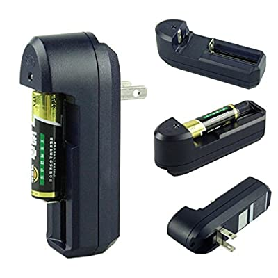 Voberry Universal Wall Battery Charger For 18650 17670 16340 14500 10440 AA AAA Must Have for Traveling
