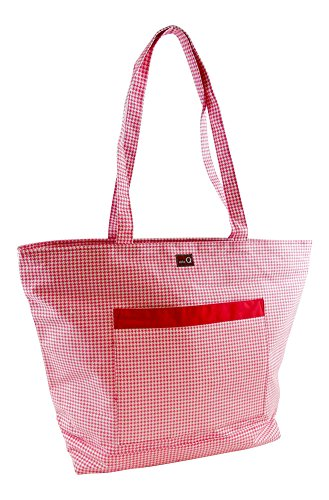 della Q Willa Shoulder Knitting Bag (19.5'' W x 15'' H x 6'' D); 105 Madison 424-1-105 by della Q