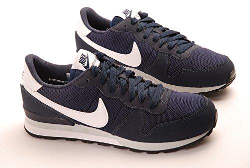 Nike Jungen Internationalist (GS) Laufschuhe Schwarz / Weiß (Obsidian / Weiß)