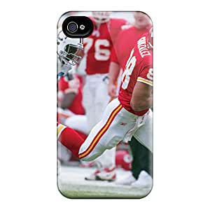 JonathanMaedel Iphone 6 Shock Absorption Cell-phone Hard Covers Support Personal Customs Stylish Kansas City Chiefs Image [XYA4270iAlh]