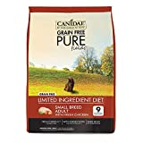 CANIDAE Grain Free Pure Fields Small Breed Adult Dog Dry Formula with Chicken, 4 lbs.