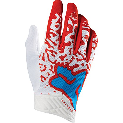 - Fox Racing Cauz Airline Men's MotoX Motorcycle Gloves - Red / X-Large