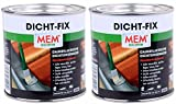 MEM Dicht FIX Good Ideas Best Selling Waterproof Sealant Paste- Seal Fix seals instantly, apply to wet or damp surfaces. Bitumen, tar and asbestos free. 750ml