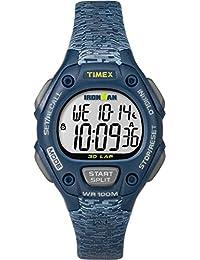 Timex Women's TW5M07400GP Ironman 30-Lap Mid Size Blue Dial Wrist Watch