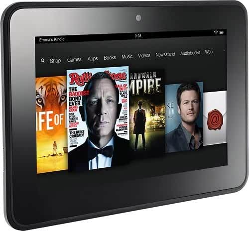 Amazon Kindle Fire Hd 7in Tablet - 16gb Black 2nd Gen X43z60