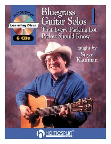 (Bluegrass Guitar Solos That Every Parking Lot Picker Should Know (Series 1) 6 CD (Homespun Learning Discs))