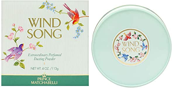 Wind Song By PRINCE MATCHABELLI For Women 4 oz Dusting Powder