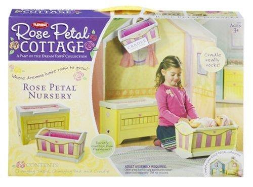 Amazon Hasbro Dream Town Rose Petal Cottage Rose Petal Nursery
