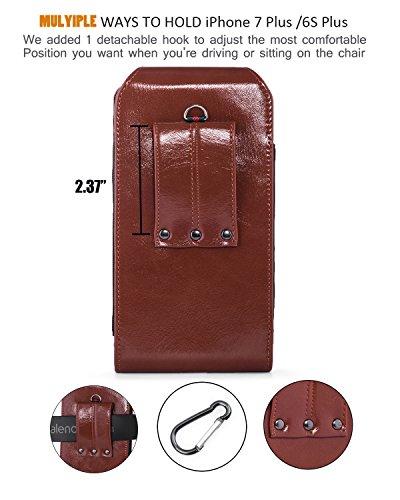 pretty nice d978f 0a919 Hwin Belt Clip Holster Case,Premium Pu Leather Carrying Case ...