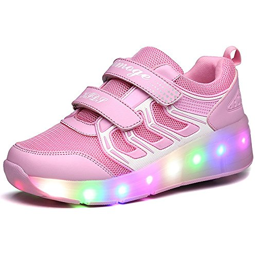 Jedi fight back LED Light Up Boys Girls Kids Dance Sneakers Trainers Causal Skate Shoes Christmas