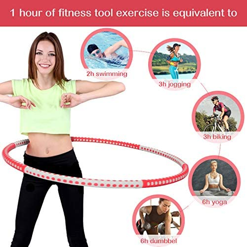 gracosy Weight Loss Workout with 8 Sections Detachable Weight Adjustable Soft Workout for Jump Rope Weighted Sport Equipment 2
