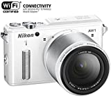 Nikon 1 AW1 14.2 MP HD Waterproof, Shockproof Digital Camera System with AW 11-27.5mm f/3.5-5.6 1 NIKKOR Lens (White)(Certified Refurbished)