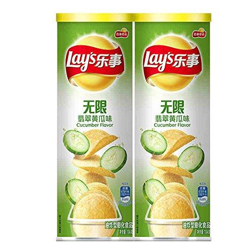 樂事 Lay's Pepsi Snacks(乐事 无限薯片 104g×2{多種口味})油炸型膨化食品 休闲零食Potato chips/French fries Chinese Ltd