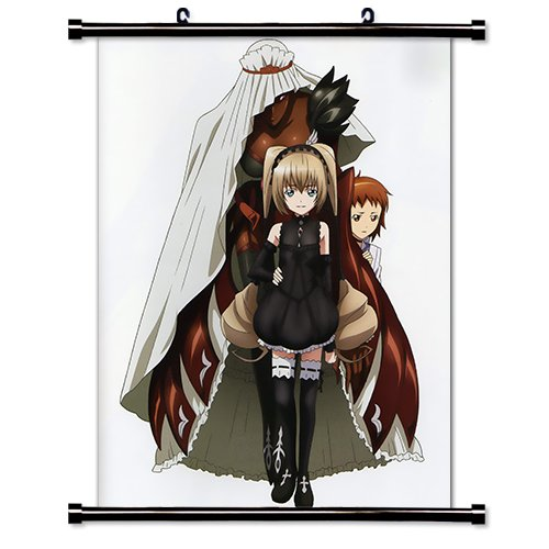 The Qwaser of Stigmata Anime Fabric Wall Scroll Poster  Inch