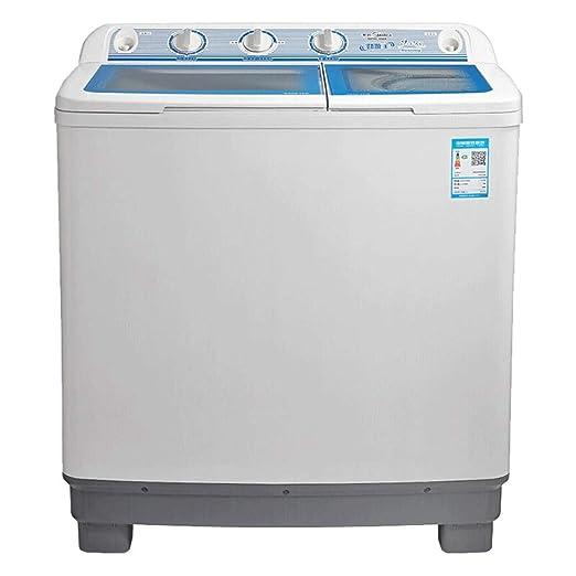 Lavadora semiautomática 9 kg/kg-Cilindro de Doble Barril Blanco ...