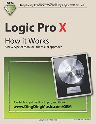 Logic Pro X - How it Works: A new type of manual - the visual approach ebook