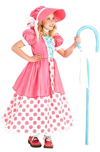 Princess Paradise Polka Dot Bo Peep Costume, Multicolor, X-Small (4) (2)