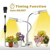Led Grow Light Bulb for Indoor Plants, KINGBO 50W 100 LED Timing Grow