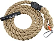 Perantlb Outdoor Climbing Rope for Fitness and Strength Training, Workout Gym Climbing Rope, 1.5'' in