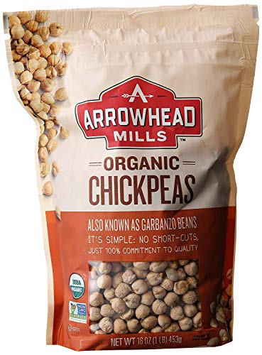 Arrowhead Mills Chickpeas, 1-Pound Unit (Pack of 6)