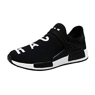9e9636ebecbd2 Hibote Men Running Shoes Mens Trainers Fashion Breathable Sneakers ...