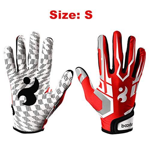 Runglacky 1 Pair Quality Baseball Batter Glove Anti Slip Gel Soft Sport Gloves Windproof Professional Baseball Hitter Gloves Multi 13' Softball Fielders Glove