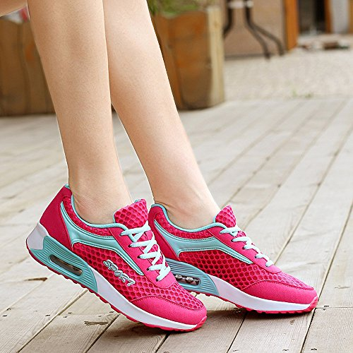 Fashion YG608meihong35 Shoes Running Sneakers Air Rose US EnllerviiD Max B Mesh M Sports 5 Walking Women U8Ur0qf