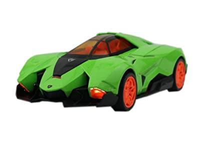 Lamborghini Egoista Die Cast Car Toy Green