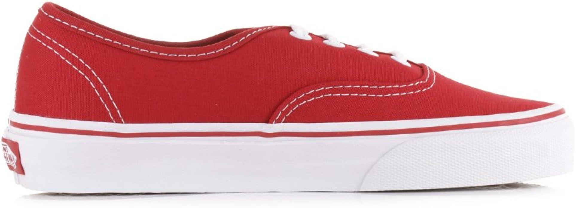 vans authentic rouge 39