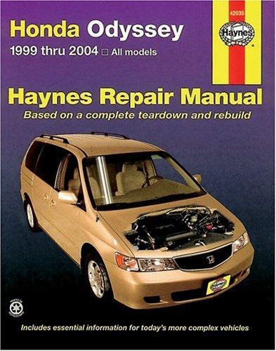 Best Honda Odyssey Service Manual  February 2020   U2605 Top