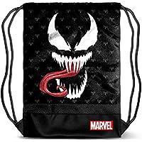 Karactermania Venom Venom-Storm Drawstring Bag Drawstring Bag, 48 cm;,Black
