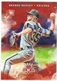 2017 Panini Diamond Kings Baseball Rookies RC #142 Braden Shipley Diamondbacks
