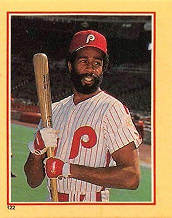 1984 Fleer Star Stickers Baseball  122 Garry Maddox Philadelphia Phillies  Mini 1.75 Inch X 2.50 20b86dbc5