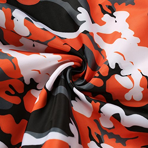 Arancione Vita Yilianda Casuali Pantaloni Donna Eleganti Sportivi Moda Alta qUz8Yfw