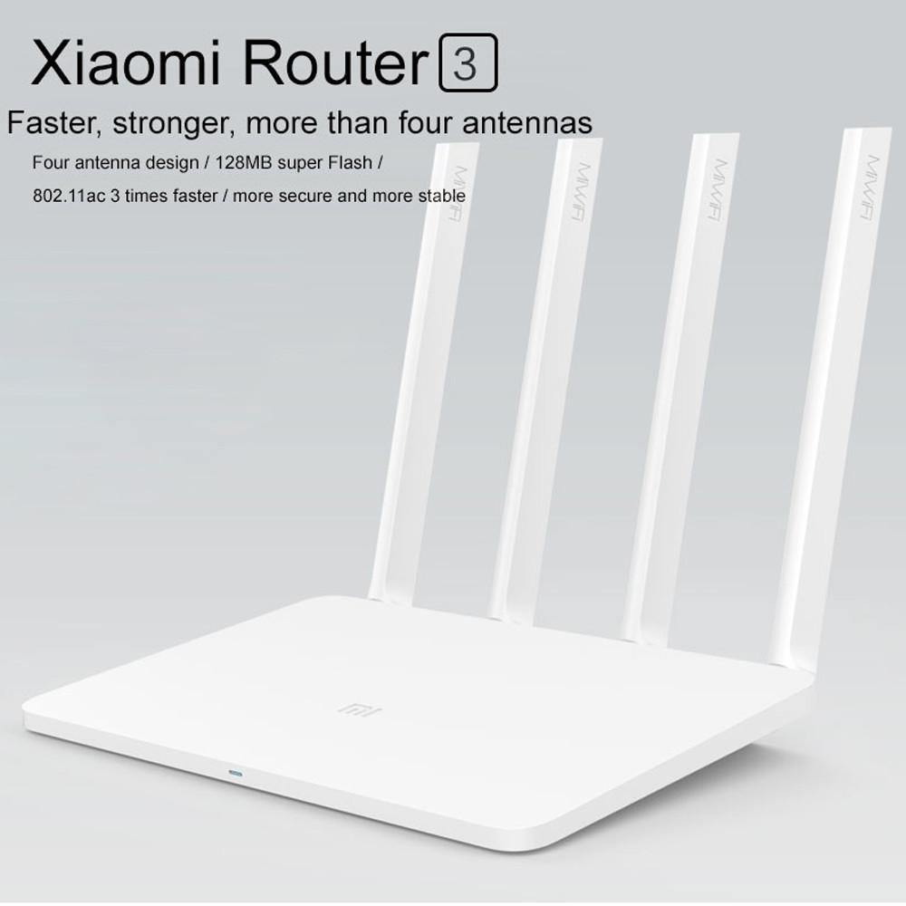Amazon.com: Mi Wireless Router 3, Xiaomi AC1200 Dual Band Smart Wireless WiFi Router - App Long Range Remote Control with 4 Antennas White: Electronics