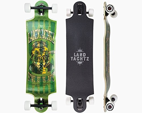 Golfers Knife (Landyachtz Switchblade 36 2016 Complete Hollowtech Longboard New Premium by Landyachtz)