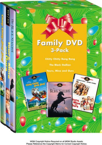 Family Classics 3-Pack Gift Set (Chitty Chitty Bang Bang / The Black Stallion / Yours, Mine and Ours)