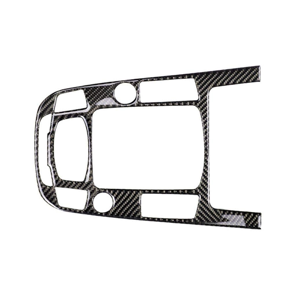 DIAMOEN Auto-Innendekor-Gangschaltung Control Panel Carbonfaserabdeckung C Typ-Aufkleber f/ür A4 A5 Q5 B8 Q3 A6