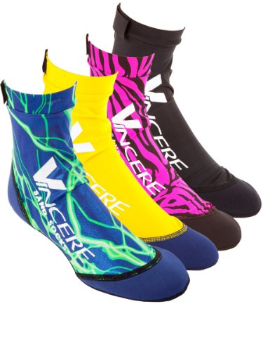 Vincere Sports Sand Socks: Beach Volleyball or Soccer, Snorkeling, Watersports