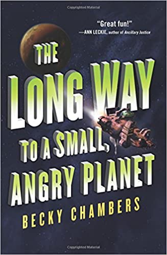 Image result for the long way to a small angry planet